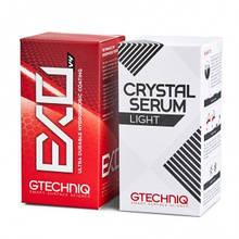 Лайт комплект зищитных покрытий - Gtechniq EXO 50 мл. and Crystal Serum Light 50 мл. (EXO/Light-50ml)