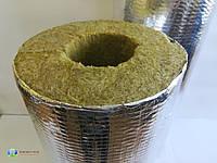 Трубна ізоляція з мінеральної вати, фольгир.,товщина 30 мм, діаметр 89 мм, фото 1