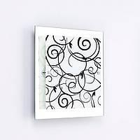 Светильник Арго 31445 2*Е27 d300 чёрно-белый квадрат