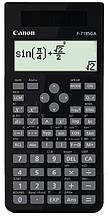 Калькулятор Canon F-718SGA Black (4299B010); настольный, 18-разрядный, литиевая + солнечная батарея (двойное), 168 x 80 x 14.5 мм