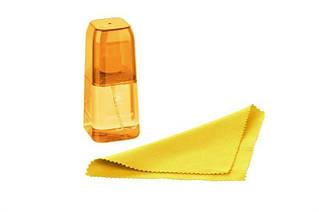Набор для чистки 2E (2E-SKTR100LYW) LED/LCD + салфетка 15х15 см Yellow