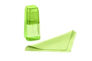 Набор для чистки 2E (2E-SKTR100LGR) LED/LCD + салфетка 15х15 см Green
