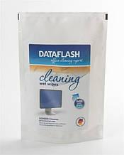 Чист. DataFlash (DF1518) салфетки для TFT/LCD, 100 шт (refill DF1513)