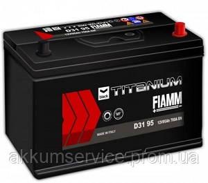Аккумулятор автомобильный Fiamm Black Titanium 95AH L+ 760А Asia (D31 95)
