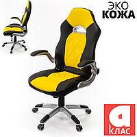 Кресло АКЛАС Форсаж-8 PL TILT Желтое, фото 1