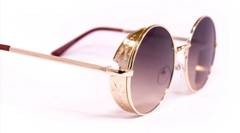 Круглые солнцезащитные женские очки