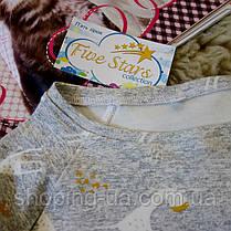 Кофточка реглан для дівчинки жирафи Five Stars KD0301-110p, фото 3