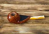 Трубка для курения Freehand из бриара высокого качества прямоток, фото 4