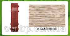 Фурнитура (комплектующие)  для ПВХ плинтуса Идеал Комфорт Соединитель, Дуб северный (213)