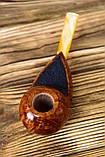 Уникальная трубка Freehand из бриара высокого качества прямоток, фото 7