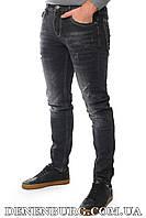 Джинсы мужские FHOUS 20-8181 тёмно-серые, фото 1