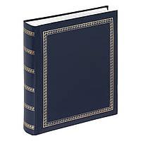 Альбом для фото 29*32 на 100 страниц Walther Das Schicke Dicke (синий)