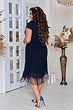 Женское красивое летнее льняное платье с декором (3расцв) 50-56р., фото 9