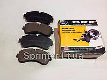 Колодки тормозные передние MB Sprinter 906 508-519CDI 06- LP1981