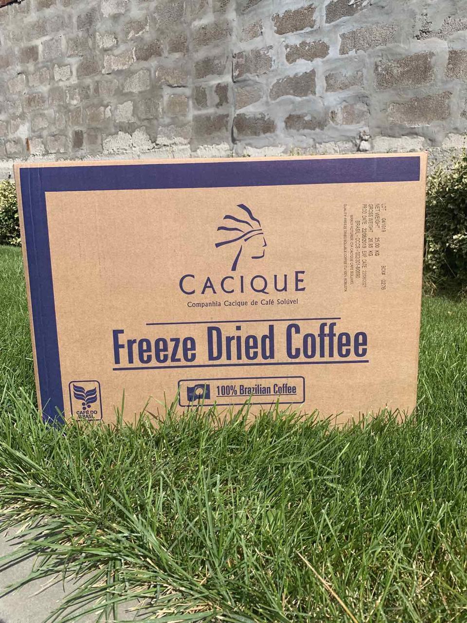 Розчинна кава Касік, (сублімований Casique), Бразилія, 25 кг/ящ.