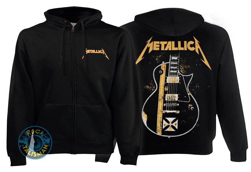 Толстовка на змейке METALLICA Гитара