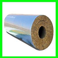Теплоизоляционные цилиндры с покрытием из алюм фольги 57/50  фольгированный
