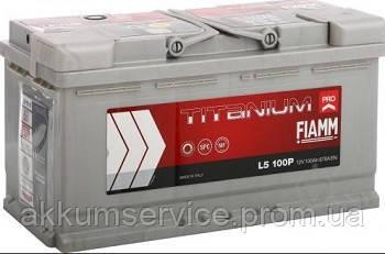 Акумулятор автомобільний Fiamm Titanium Pro 100AH L+ 870А (L5 100P)
