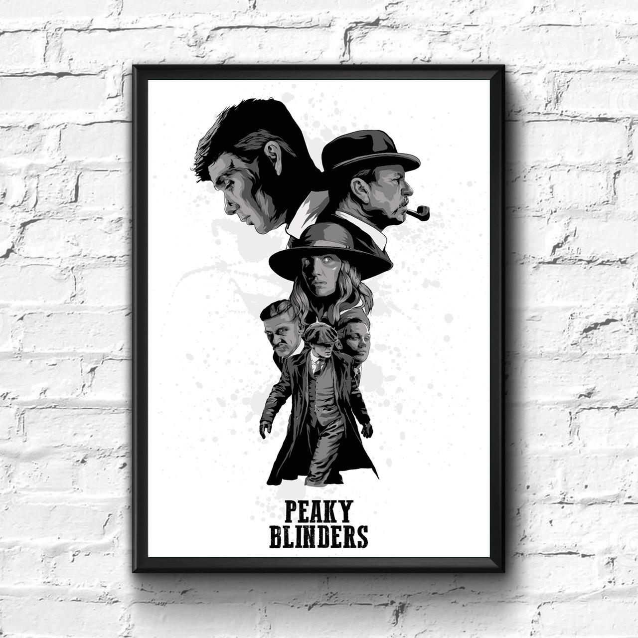 Постер с рамкой Острые Козырьки #3