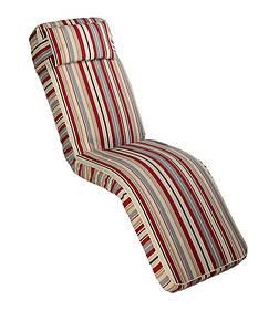 Матрас для шезлонга Janet ткань Лонета Красные полосы (ОСТ-ФРАН ТМ)
