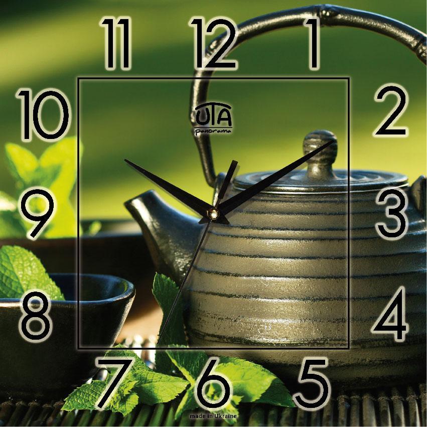 Часы настенные UTA Panorama 300 х 300 х 16 мм кухонные