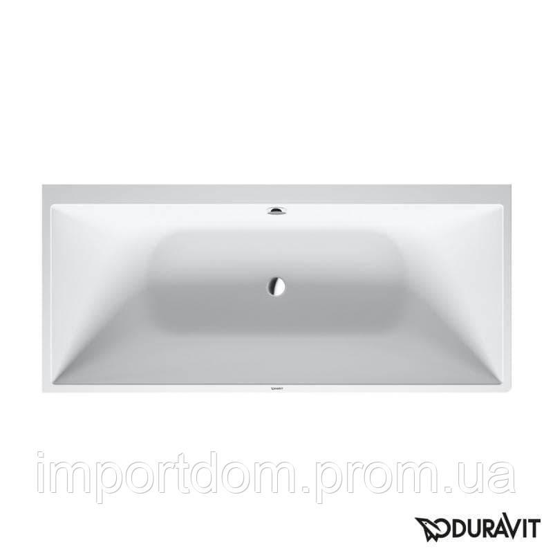 Ванна каменная 180х80 Duravit DuraSquare, пристенный вариант