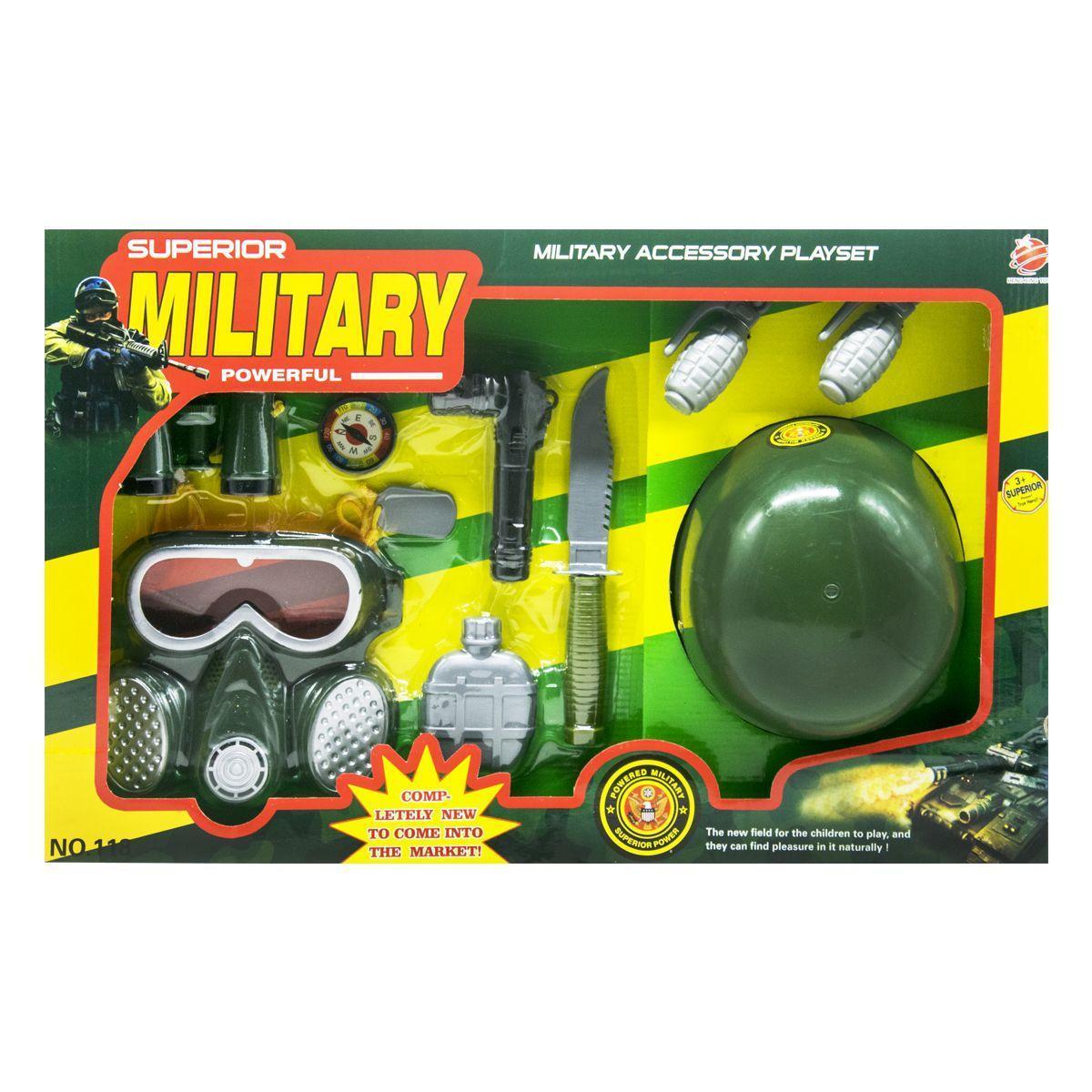 Набор военного Military Set 10 элементов