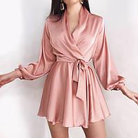 Женское платье из шелка