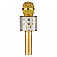 Микрофон для караоке, WSTER WS858, блютуз микрофон для пения, детский микрофон с динамиком   🎁%🚚, Радиоприемники, рации, микрофоны и радиосистемы