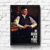 Постер с рамкой Острые Козырьки #7