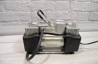 Портативный авто - компрессор  2-х цилиндровый, воздушный, фото 4