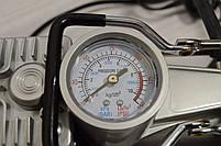 Портативный авто - компрессор  2-х цилиндровый, воздушный, фото 5