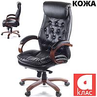 Крісло АКЛАС Лаціо EX MB Чорне, фото 1