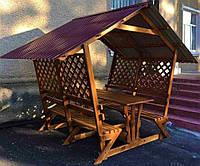 Беседка Park 2х2 ПОД КЛЮЧ от производителя, беседка, беседка для дачи, садовая беседка, деревянная беседка