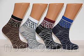 Жіночі шкарпетки середні комп'ютерні MONTEBELLO зебра