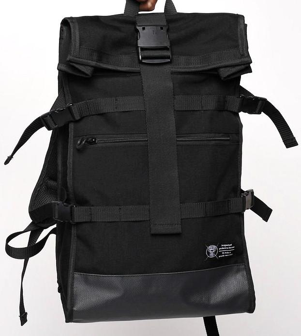 Рюкзак роллтоп черный ТУР модель Akuma