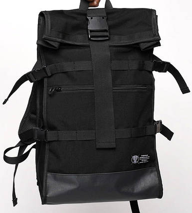 Рюкзак роллтоп черный ТУР модель Akuma, фото 2