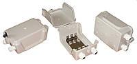 Коробка распределительная пластмассовая уличная на 30 пар, с замком, IP65