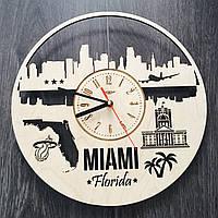Интерьерные часы на стену «Майами, Флорида», фото 1