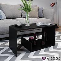 Vicco журнальный столик Tyrion 80x40, цвет черный