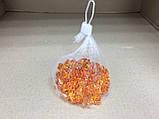 Кристаллы камни декоративные осколки 1,5х1,5 см оранжевый, фото 4