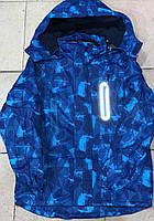 Демисезонная термо куртка ветровка для мальчика оптом (8-16р)