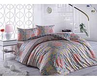 Комплект постельного белья двухспальный евро (240х260) фабричный турецкий 100% хлопок РАНФОРС First Choice