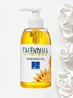 Массажное масло с зародышами пшеницы - Календула Calendula Wheat Germ Massage Oil Dr. Kadir 330 мл