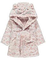 "Халат для девочки розовый ""Котенок"" George (Англия) 80см. (9-12мес)"