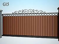 Ковані ворота Моніка