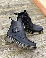 Ботинки женские из натуральной кожи на низком каблуке повседневные стильные комфорт 40 M.KraFVT 0025 2021