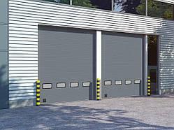 Секционные промышленные ворота DoorHan серии ISD01 (3500х3250)