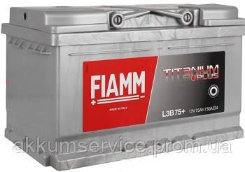 Акумулятор автомобільний Fiamm Titanium Pro 75AH L+ 730А (L3B 75P)