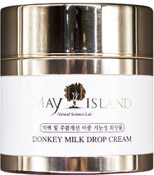 Увлажняющий крем на основе ослиного молока May Island Donkey Milk Drop Cream, 70 мл